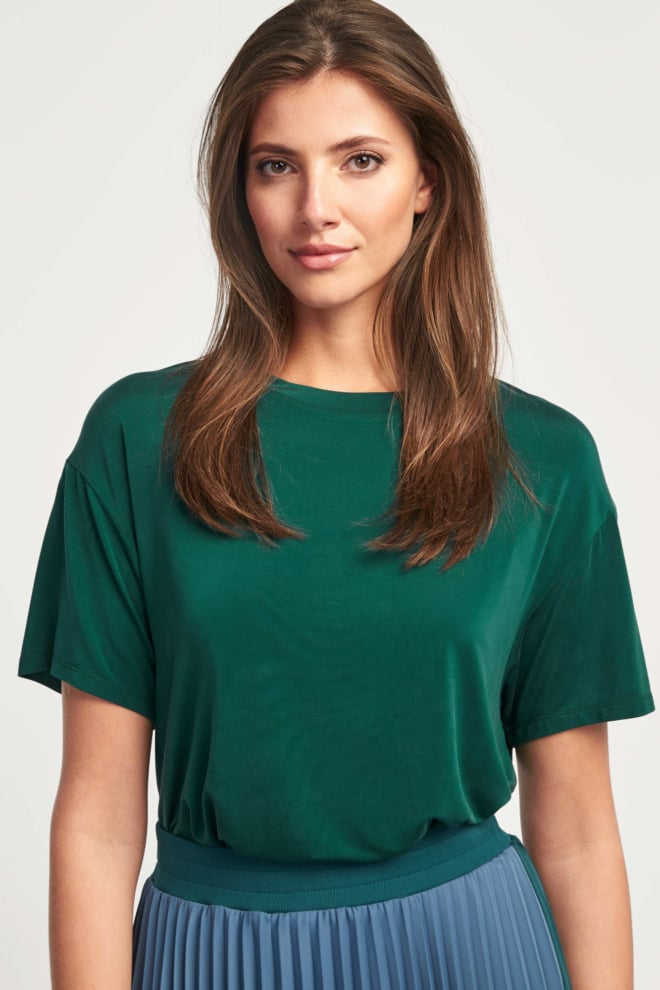 Drykorn kyla t-shirt groen - Drykorn