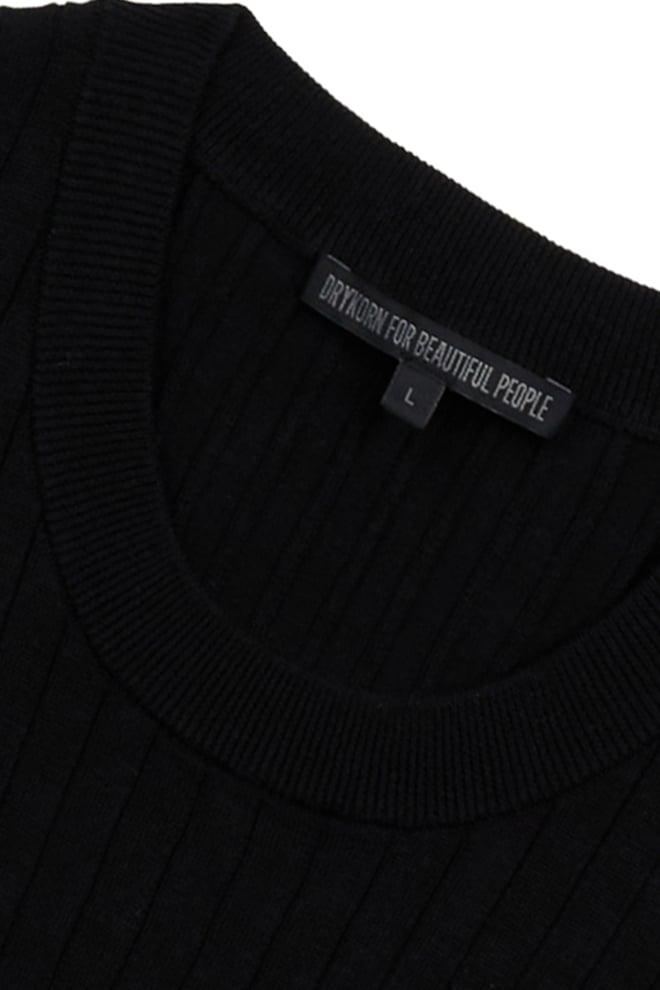 Drykorn valentin t-shirt zwart - Drykorn
