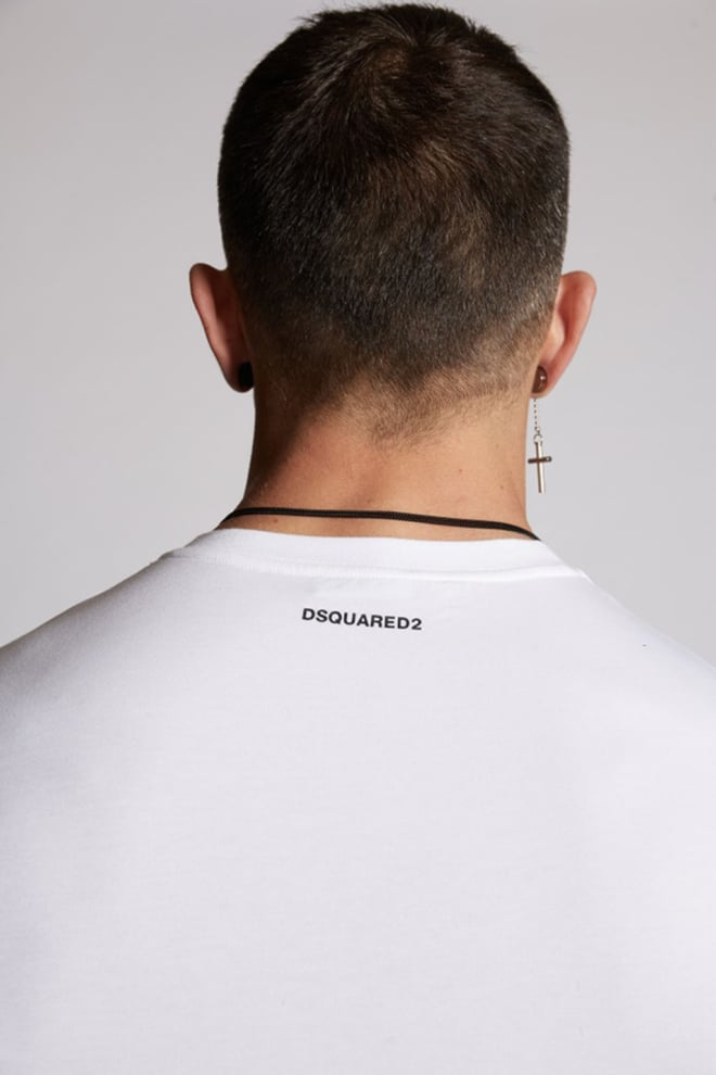Dsquared icon t-shirt wit - Dsquared