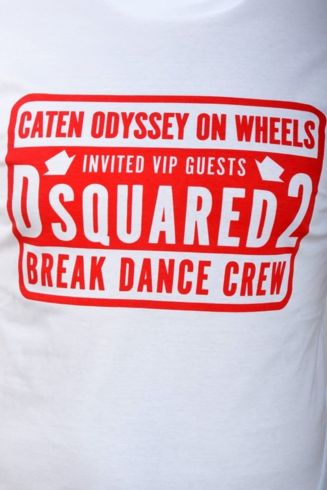 Dsquared t-shirt white - Dsquared