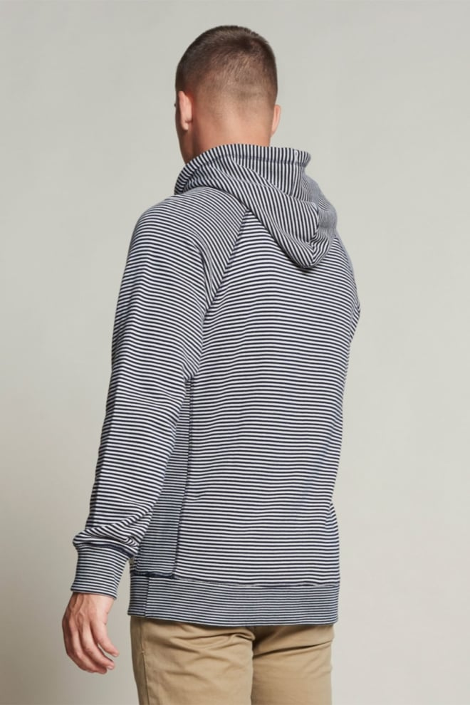 Dstrezzed hoody stripe sweat - Dstrezzed