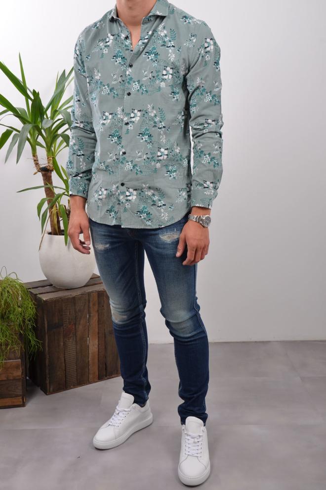 Dstrezzed flower overhemd - Dstrezzed