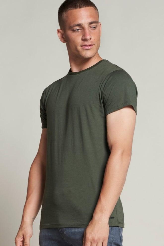 Dstrezzed basic t-shirt pima - Dstrezzed