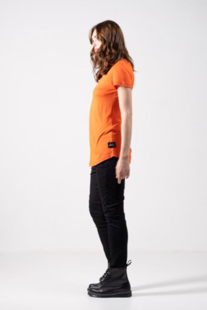 Elias rumelis ada t-shirt orange fire - Elias Rumelis