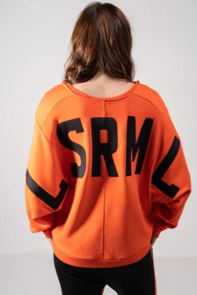 Elias rumelis daria winter sweater oranje - Elias Rumelis