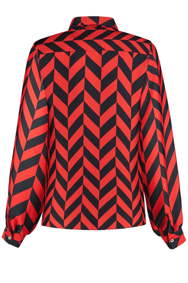 Fifth house rum blouse diamond coral - Fifth House