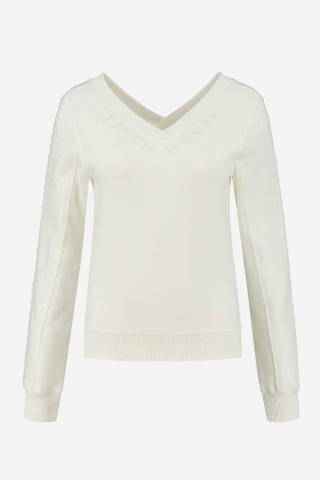 Fifth house elvi sweater off white - Fifth House