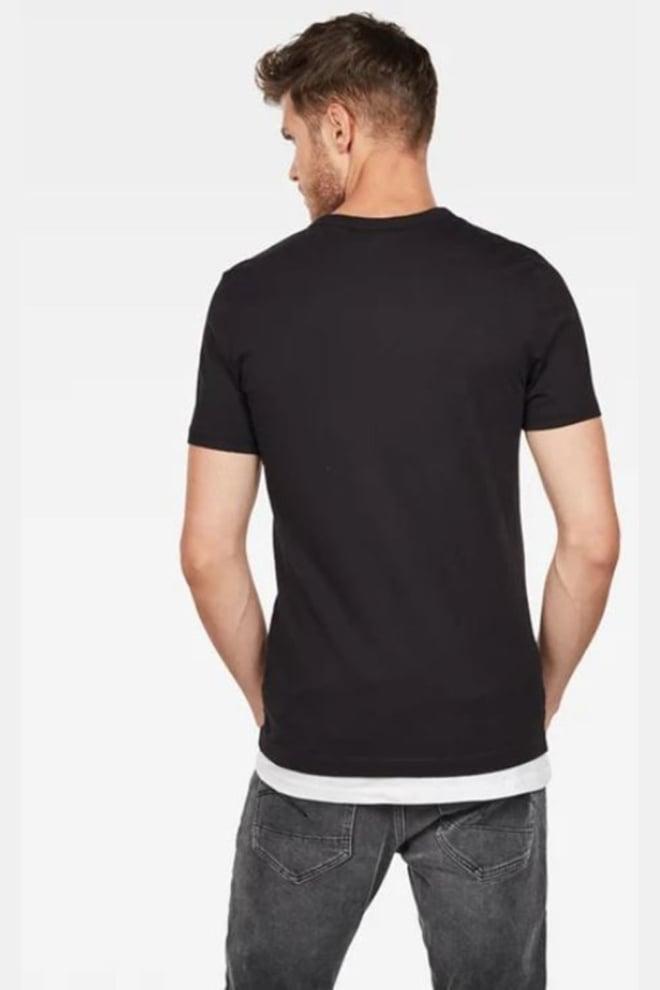 G-star raw graphic t-shirt zwart - G-star Raw