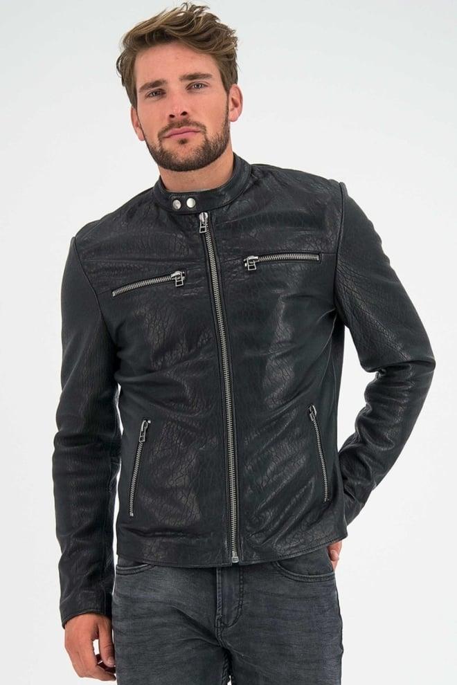 Goosecraft glasgow biker zwart - Goosecraft