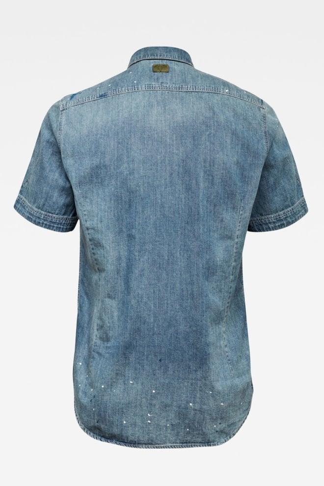 G-star raw denim overhemd blauw - G-star Raw