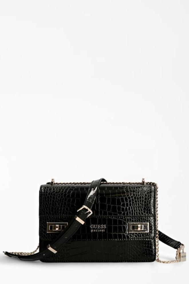 Guess accessoires katey tas zwart - Guess Accessoires