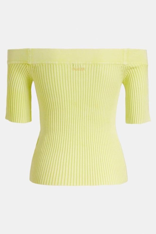 Guess alina sweater yellow - Guess