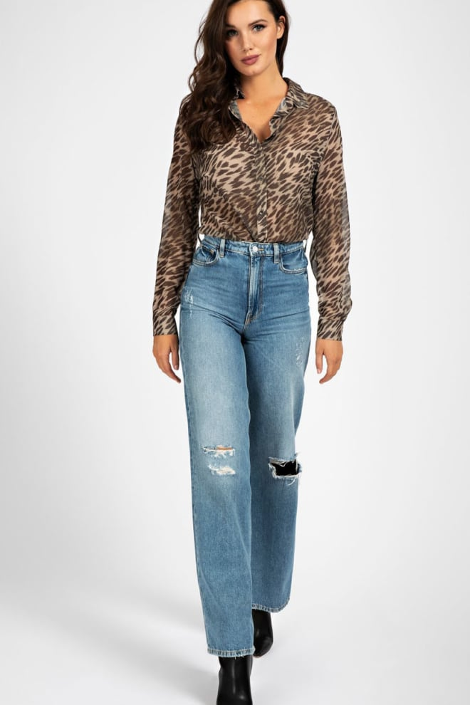 Guess all over print jewel shirt - Guess