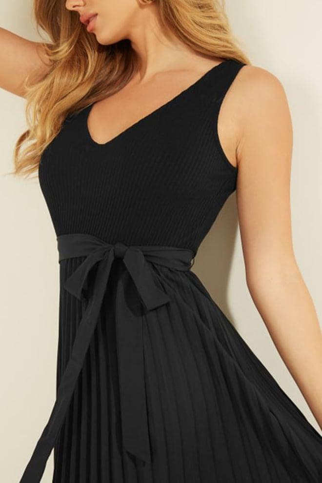 Guess erynn jurk zwart - Guess