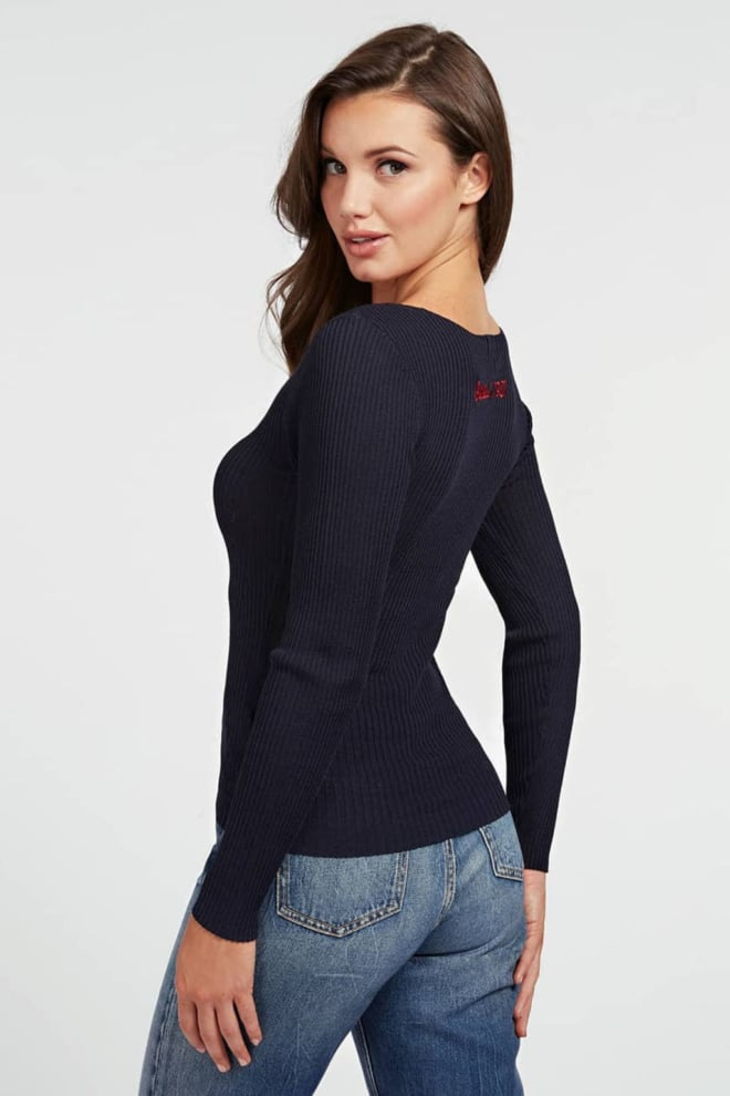 Guess elena v-neck sweater - Guess