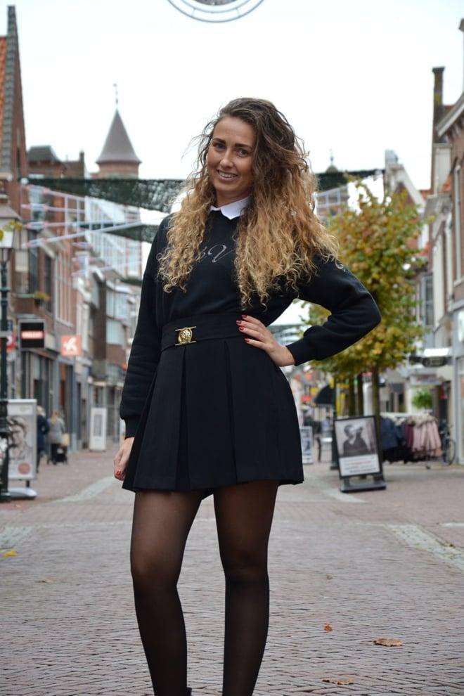 Guess greta rok zwart - Guess