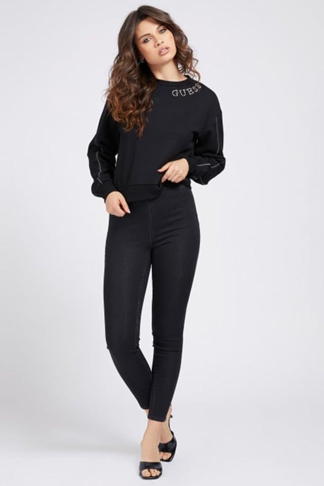 Guess gurli sweater zwart - Guess