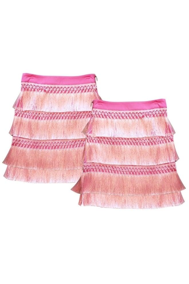 Guess jacqueline skirt pink - Guess