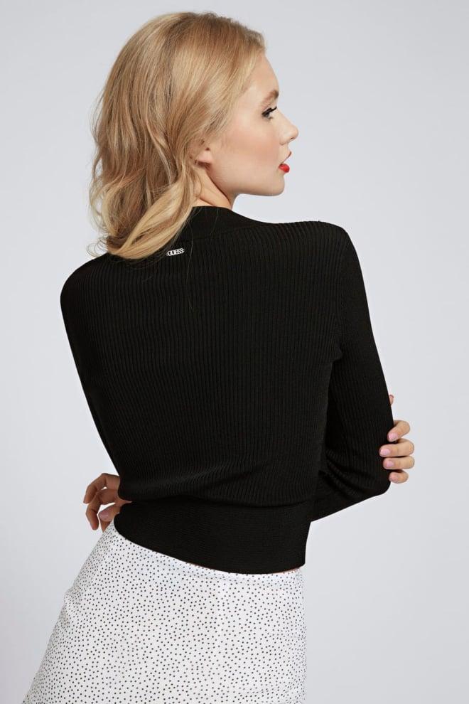 Guess jade sweater zwart - Guess