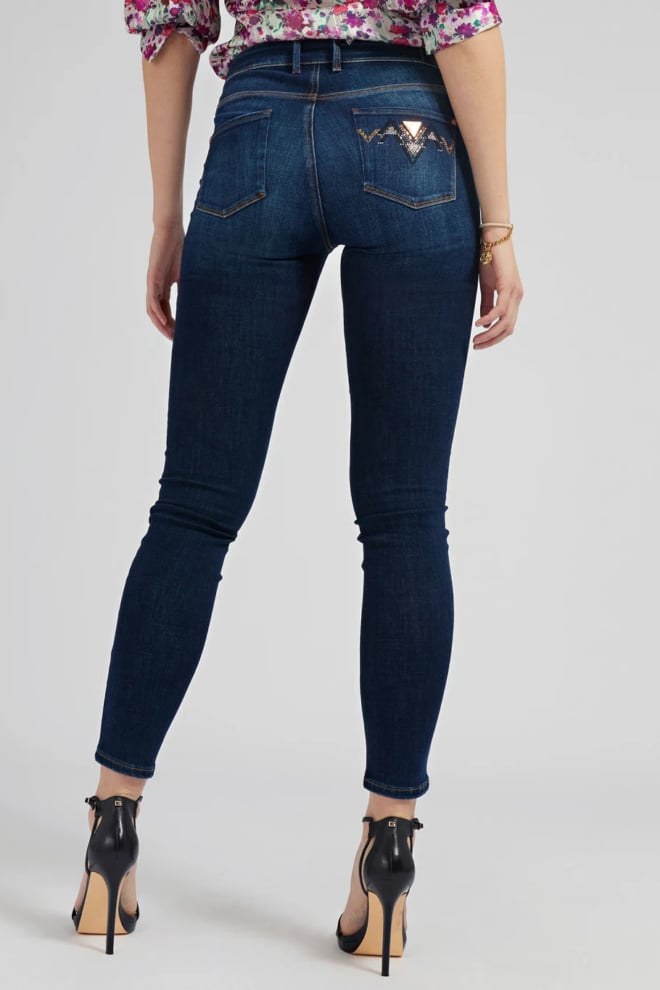 Guess jegging mid blauw - Guess