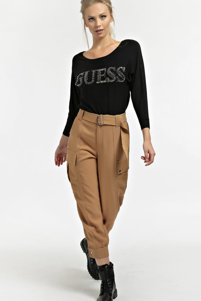 Guess jewel details logo sweater - Guess