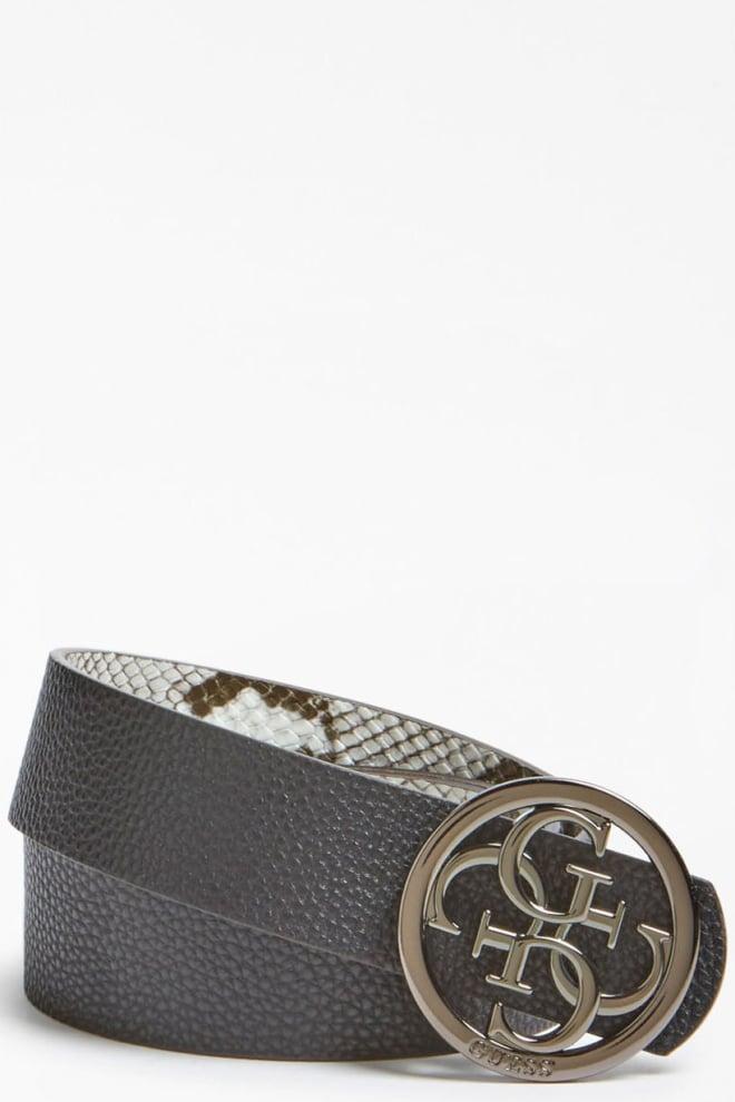 Guess kirby python print belt - Guess Accessoires
