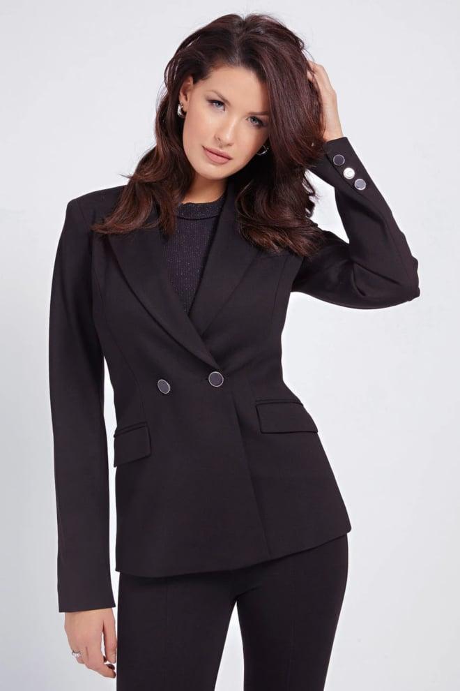 Guess micaela blazer zwart - Guess