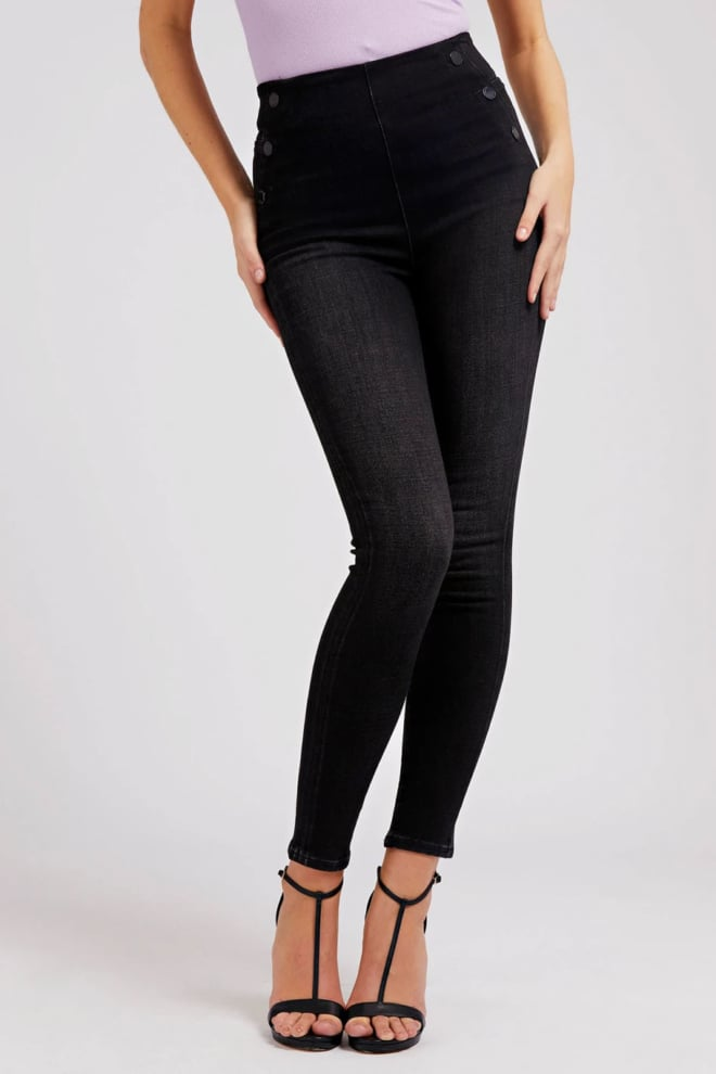 Guess push-up skinny jeans grijs - Guess