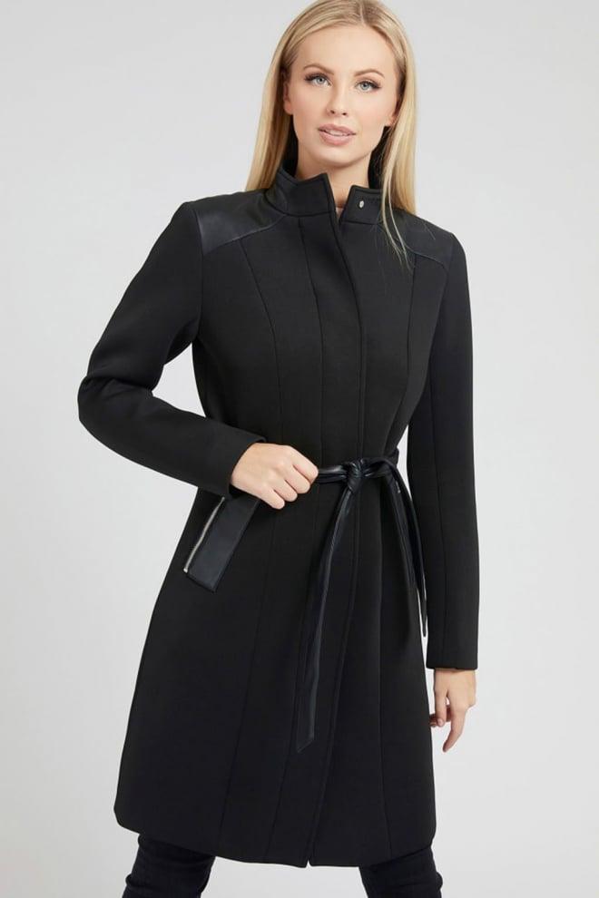 Guess raya coat zwart - Guess