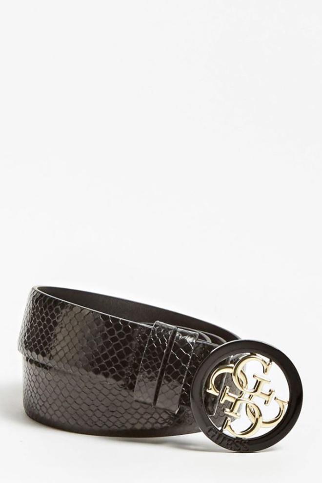 Guess riem 4g-logo slangenlook - Guess Accessoires