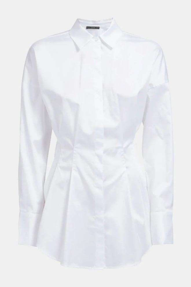 Guess rihanna shirt blouse wit - Guess