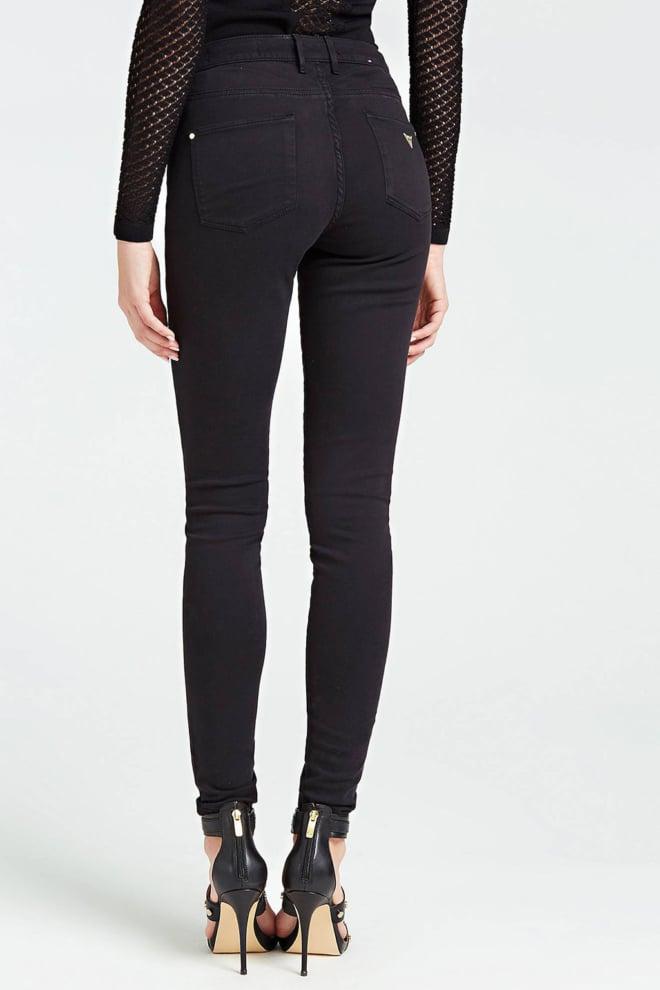 Guess super-stretch skinny jeggings zwart - Guess