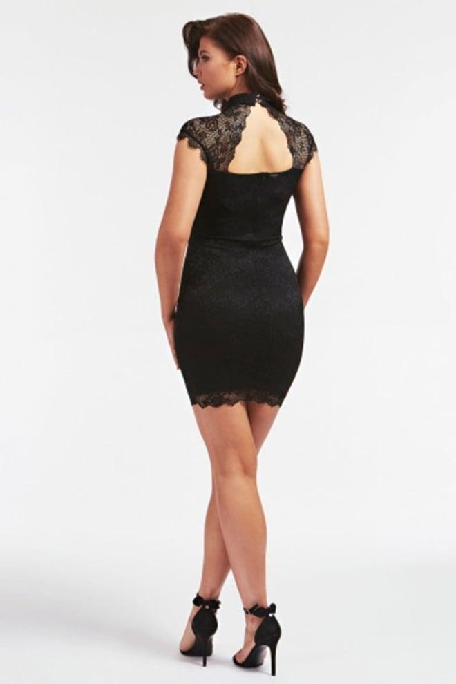 Guess yoki dress zwart - Guess