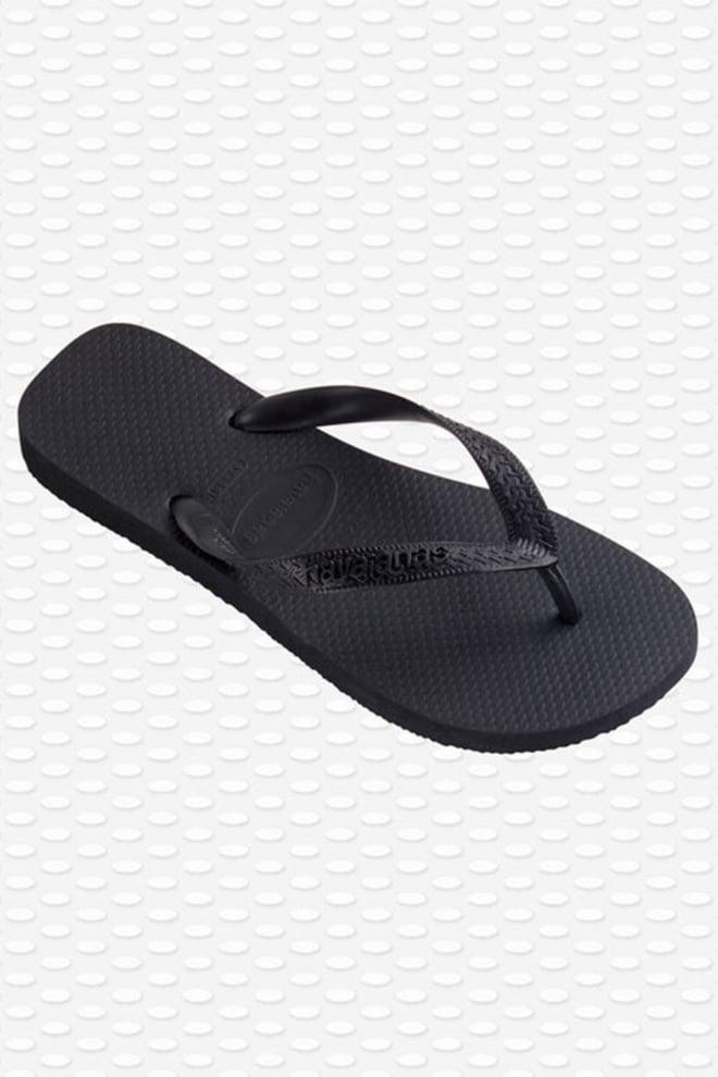 Havaianas top black slippers - Havaianas
