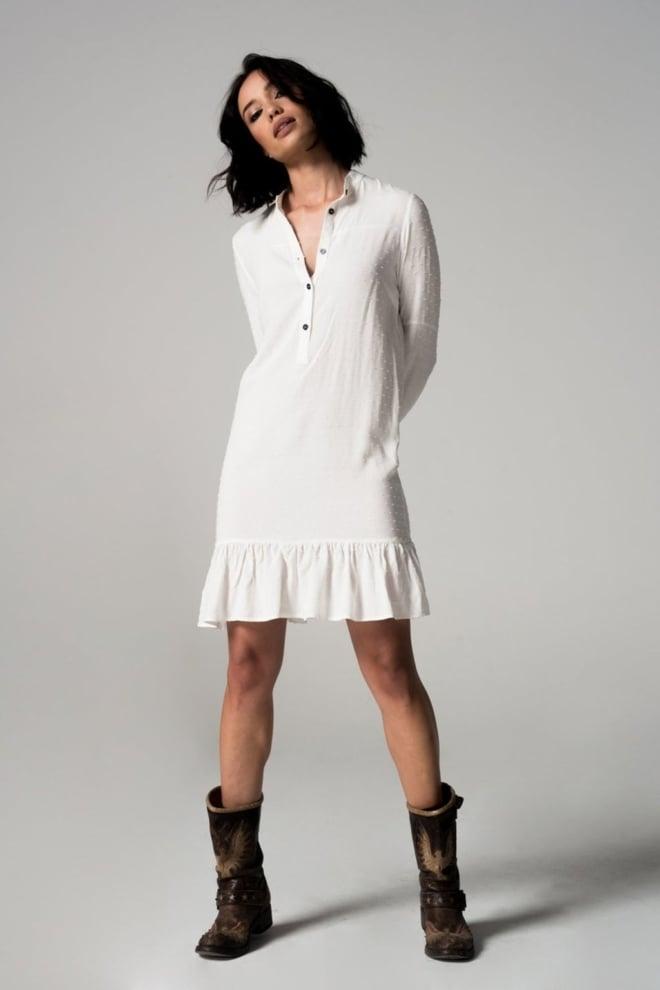Iconic 27 janis jurk wit - Iconic 27