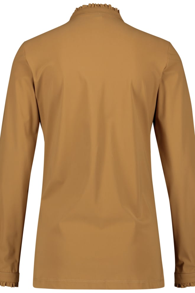 Jane lushka blouse lora bruin - Jane Lushka