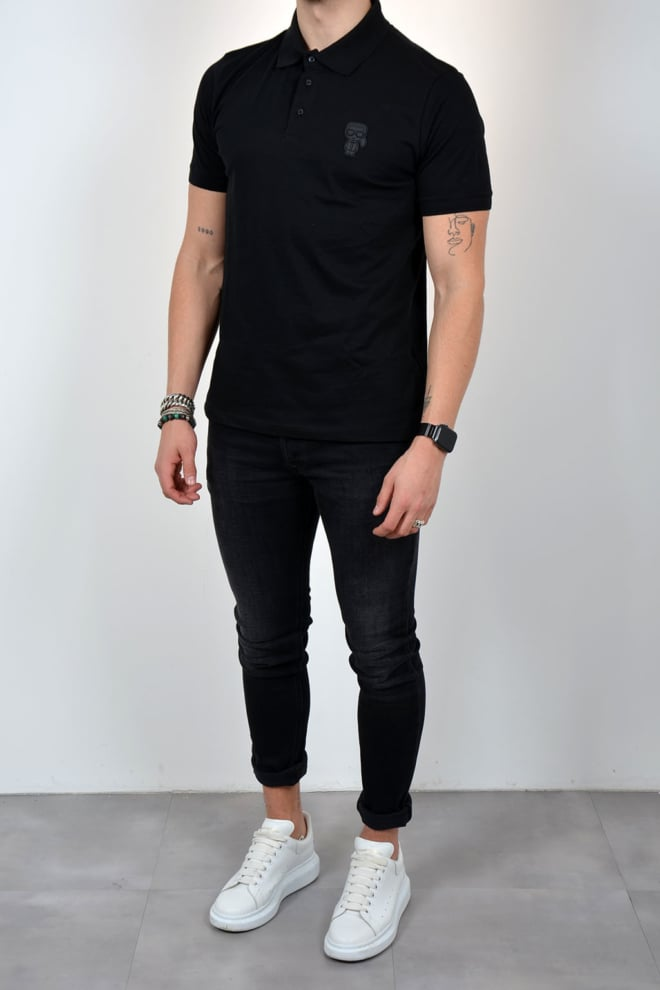 Karl lagerfeld polo black - Karl Lagerfeld