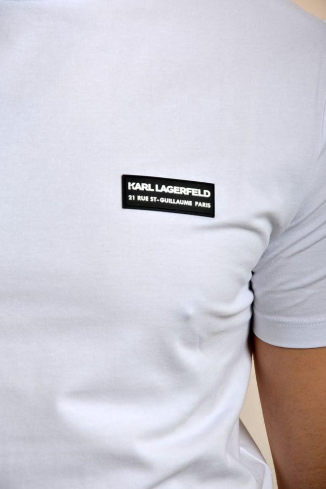Karl lagerfeld t-shirt lichtblauw - Karl Lagerfeld