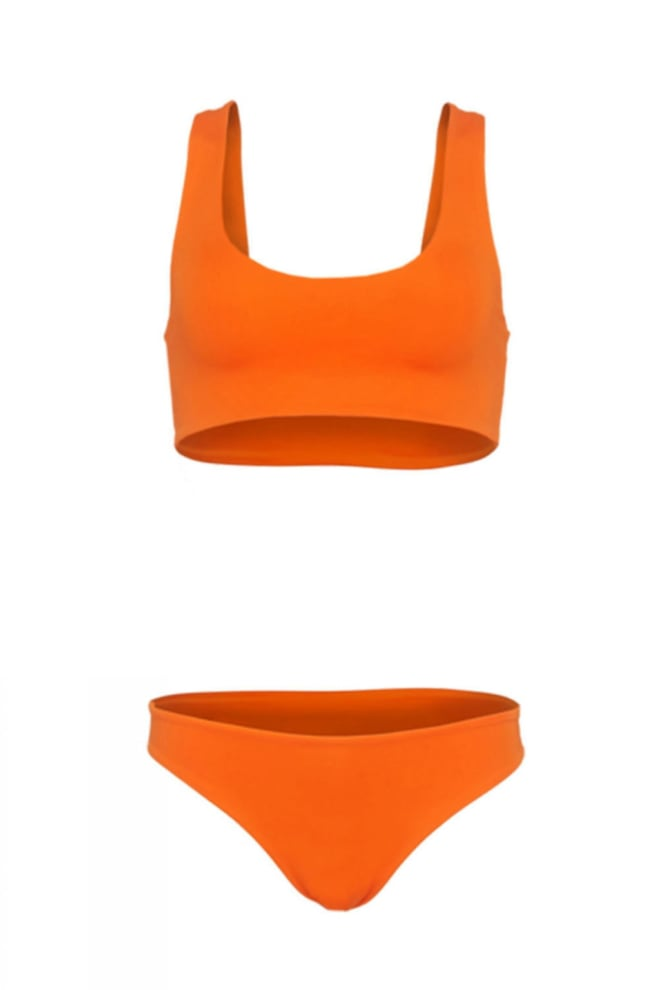 La sisters sporty bikini orange - La Sisters