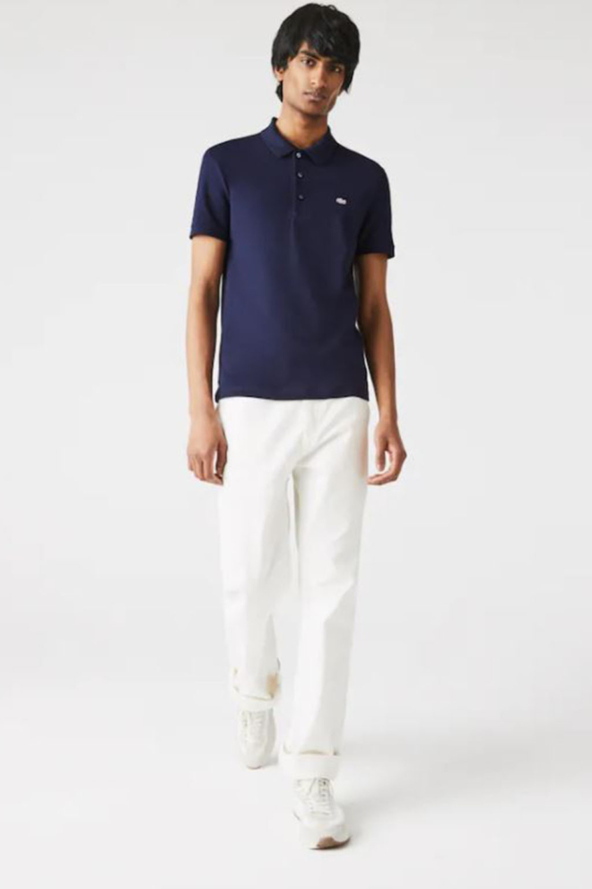 Lacoste polo navy blue - Lacoste