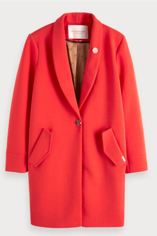 Maison scotch bonded tailored jas rood - Maison Scotch