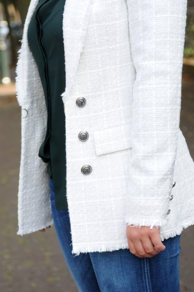 Nikkie lilac blazer off white - Nikkie By Nikkie