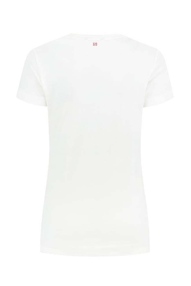 Nikkie t-shirt fame off white - Nikkie By Nikkie