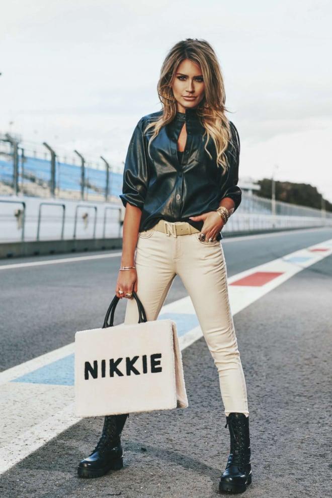 Nikkie mella blouse zwart - Nikkie