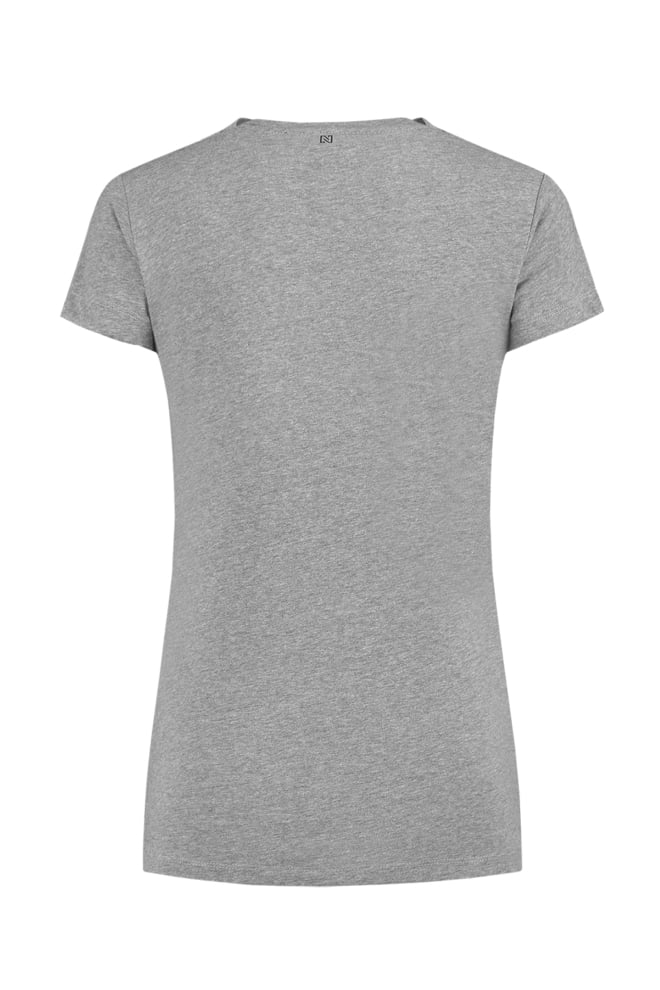Nikkie mickey t-shirt grey melange - Nikkie By Nikkie