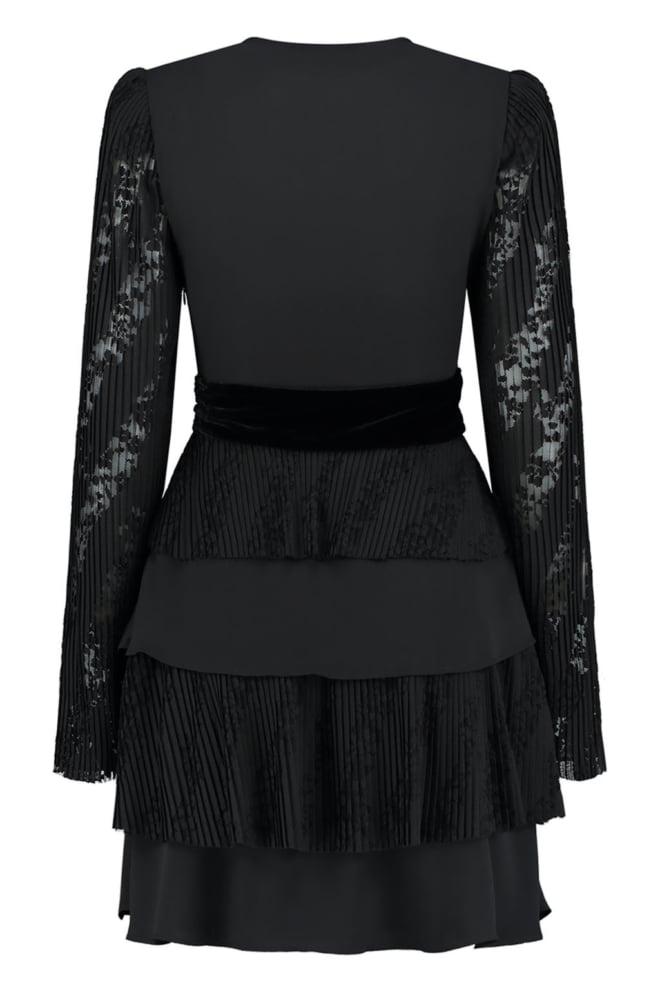 Nikkie runa jurk zwart