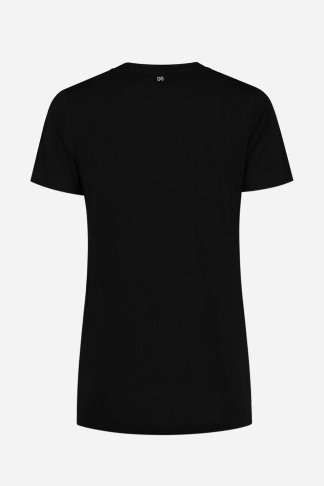Nikkie tape t-shirt zwart - Nikkie