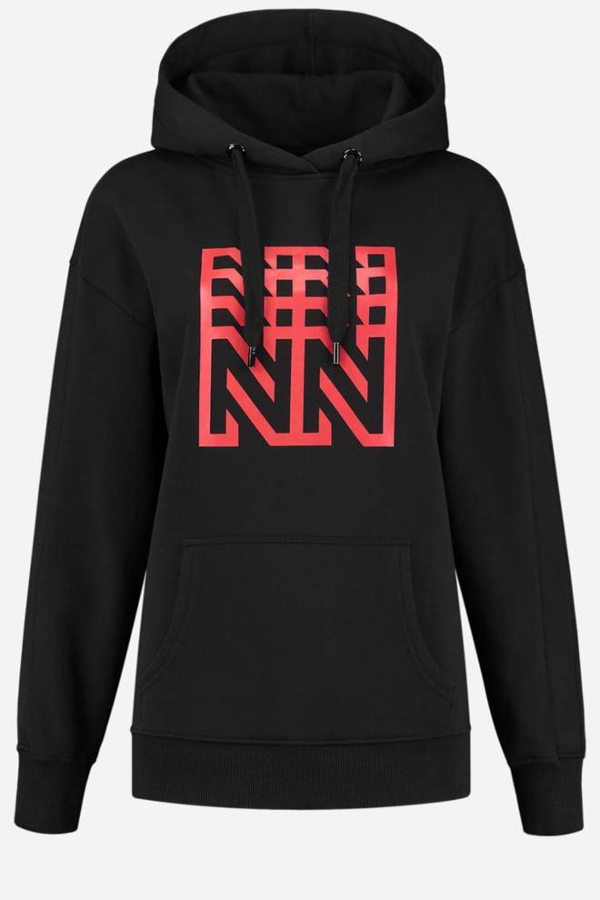 Nikkie urban hoodie zwart - Nikkie