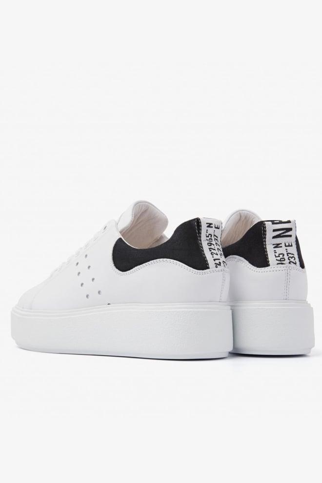 Nubikk elise marlow sneakers wit/zwart - Nubikk