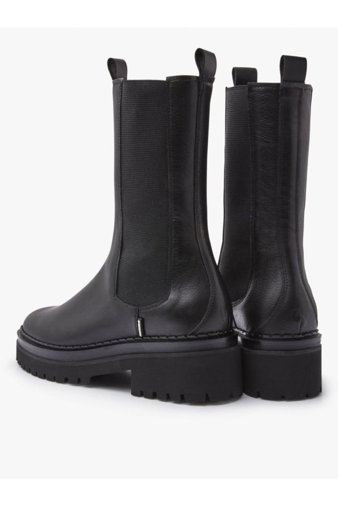 Nubikk fae adams black leather laarzen - Nubikk